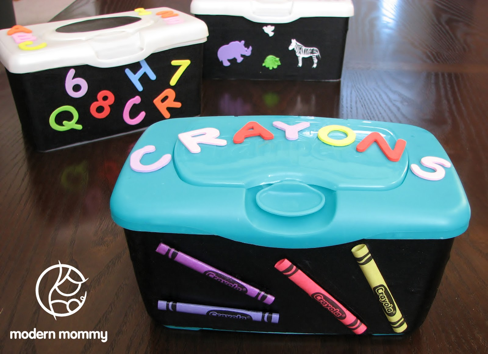Modern Mommy Make it Monday DIY Craft Storage Containers