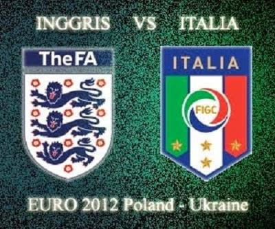Bigmatch penyisihan Grup D World Cup 2014 : Inggris Vs Italia