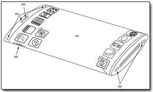 Apple запатентовала смартфон с овальным дисплеем