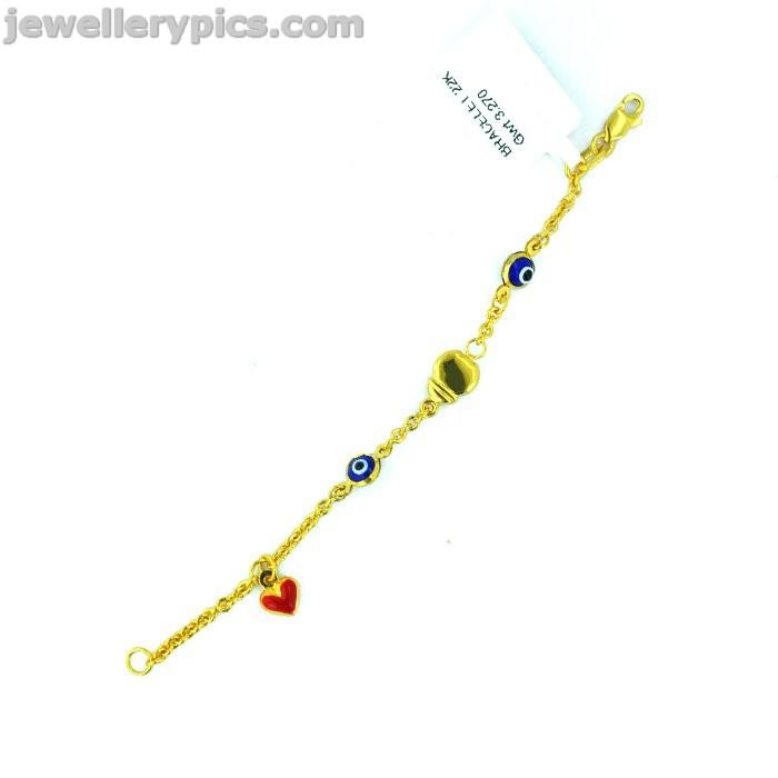 Impressive Kids gold bracelet designs from Joyalukkas - Latest ...