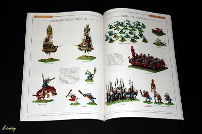 Páginas interiores del catálogo 2004