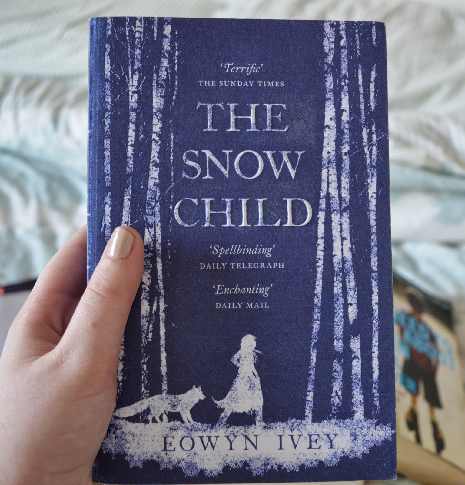 The Snow Child, Eowyn Ivey,photo, photography, list, mother's day, recommendations, paperback, family centred, literature, suggestions,