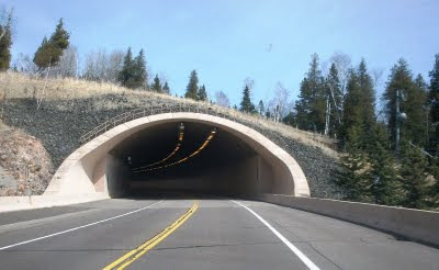 tunnel on Hwy 61