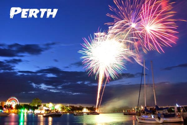 new years fireworks in perth australia