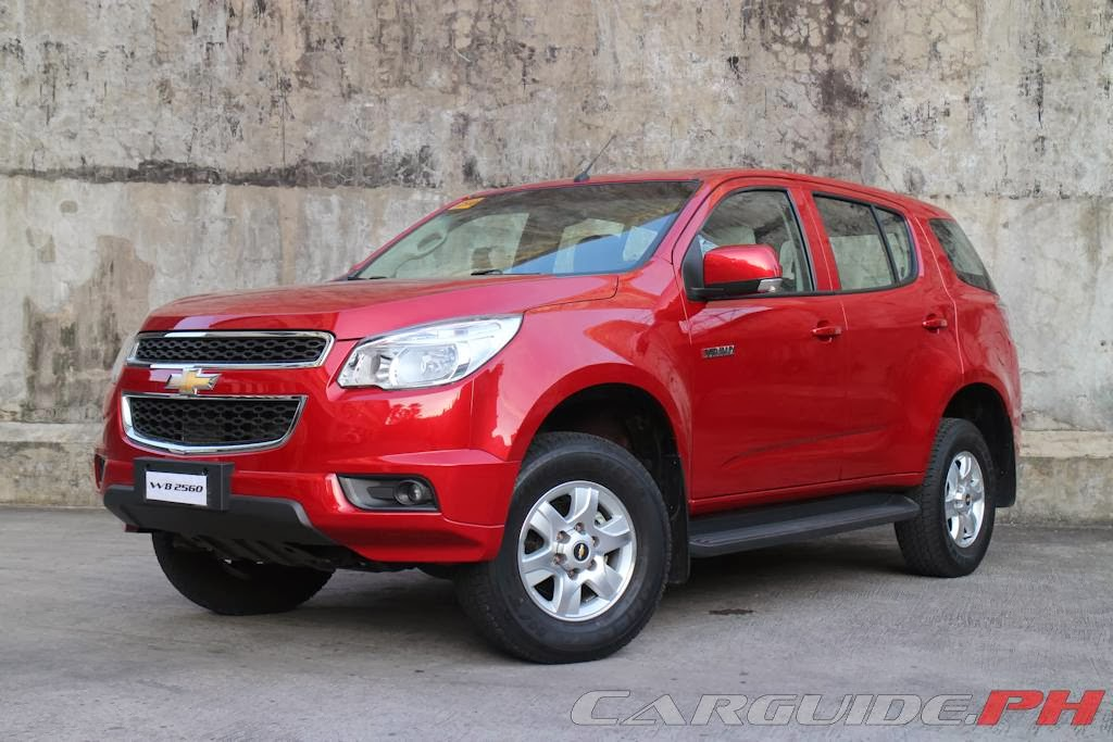 Review 2014 Chevrolet Trailblazer 28 4x2 AT  CarGuidePH