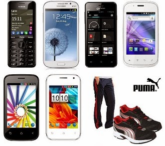 HomeShop18 Super Deal on Mobiles: Nokia Asha 206 | Samsung Galaxy Grand Duos I9082 | Samsung Galaxy Core i8262 7 many more