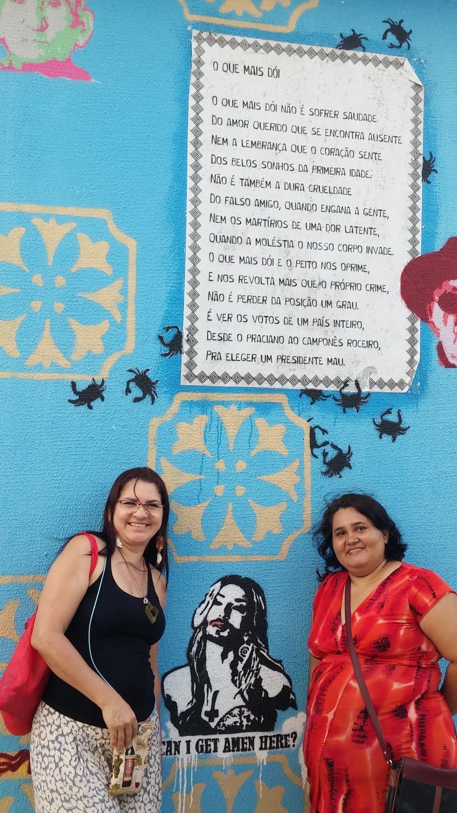 Muro da poesia @ Brigitty