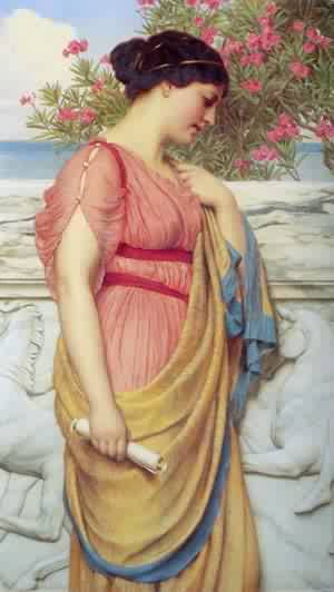 john william godward sappho