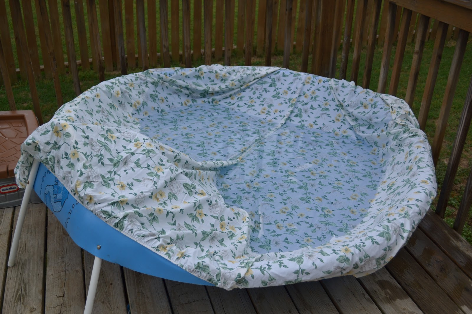 My Little Smarties Diy Kiddie Pool Cover