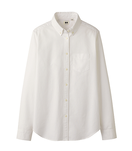 Uniqlo White Shirt Uniqlo Oxford Shirt