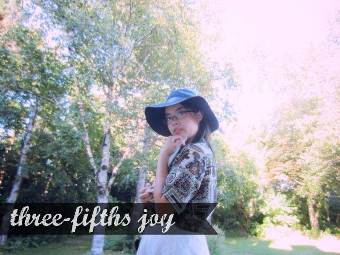 Three-fifths joy