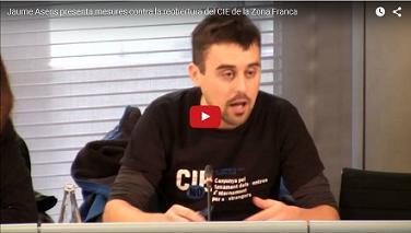 Novembre 2016. L'Ajuntament de Barcelona contra la reobertura del CIE