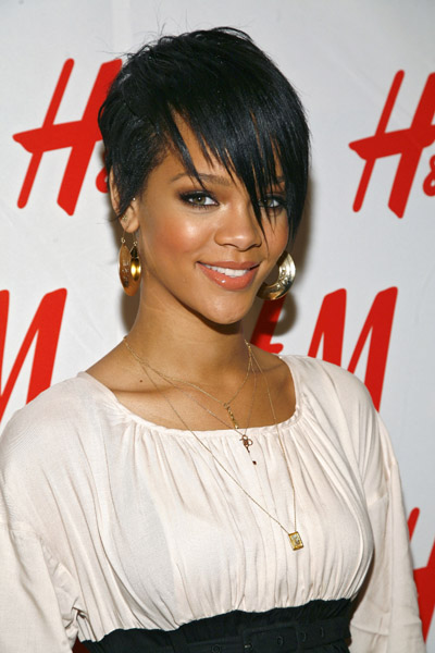 Fresh Look Rihanna Short Hairstyles (03) | Fresh Look Hairstyles