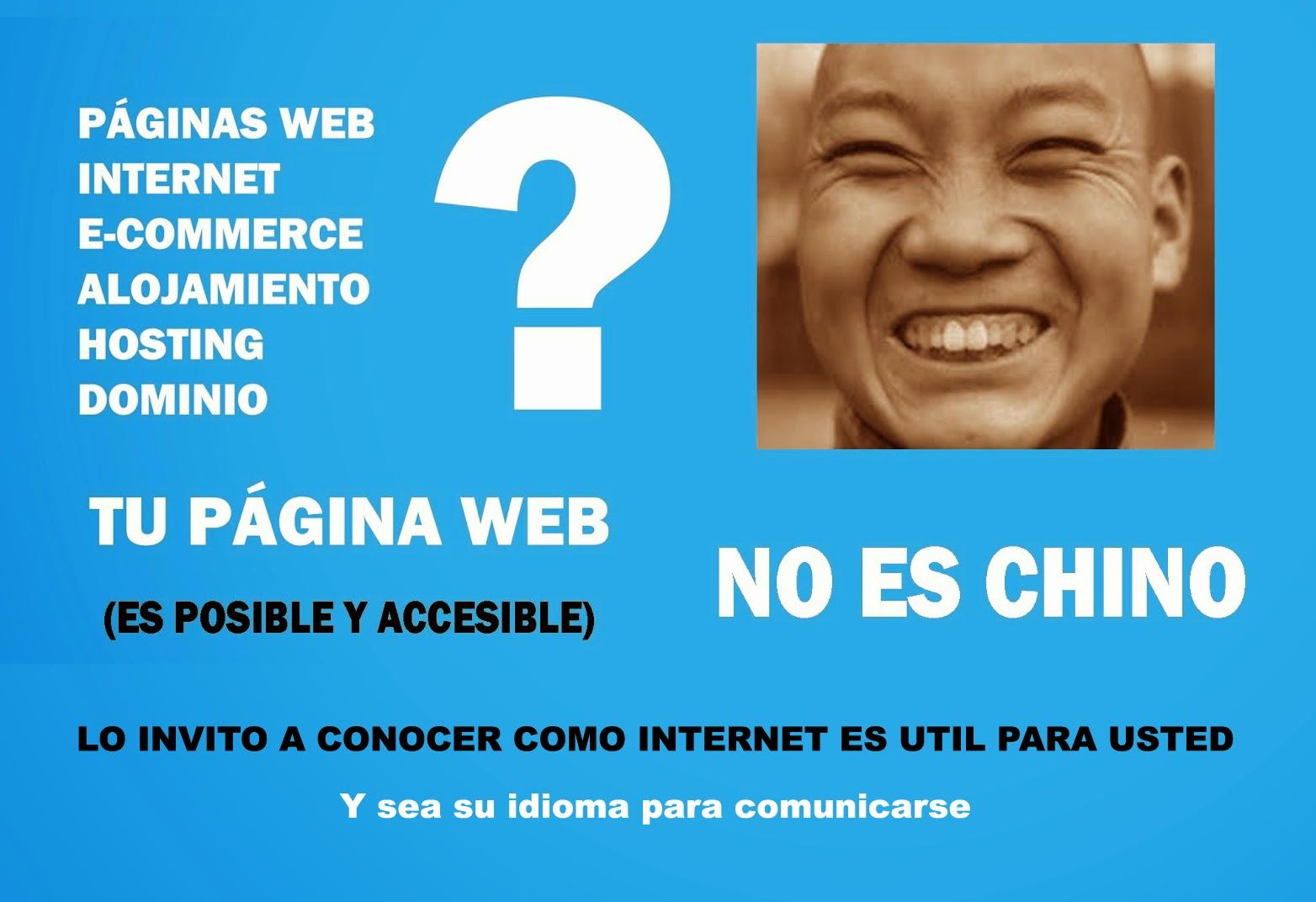 TU PAGINA WEB ES POSIBLE