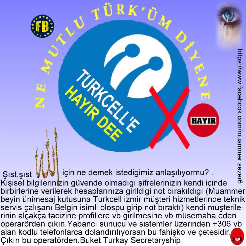 Turkcell uyarı