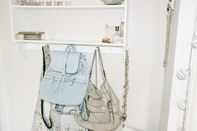 Katherine Penney Chic Backpack Blue Accessorize Summer Pastel Pretty New