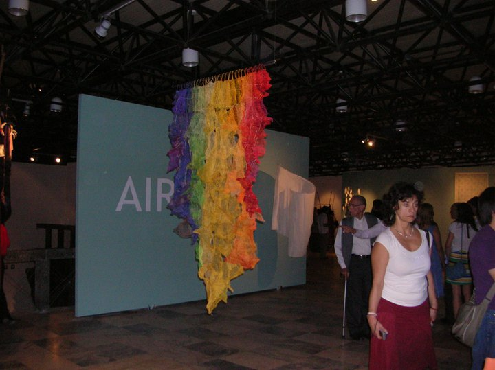 VI BIENNIAL OF CONTEMPORARY TEXTILE ART. Photos: World Textile Art Organization. Edition: V Silva.