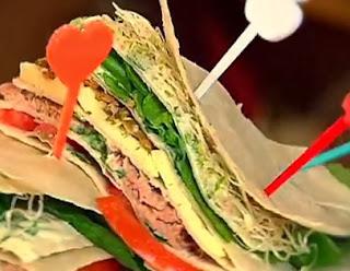 Como hacer Sandwich de Tortilla Mexicana
