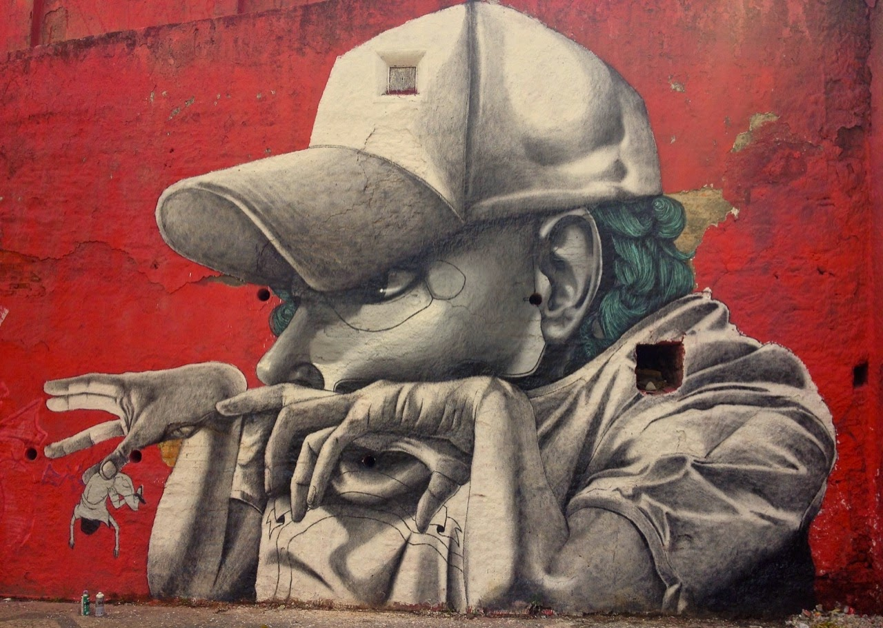 Claudio Ethos is starting 2015 with a new series of pieces which just popped up all over the streets of Sao Paulo in Brazil.