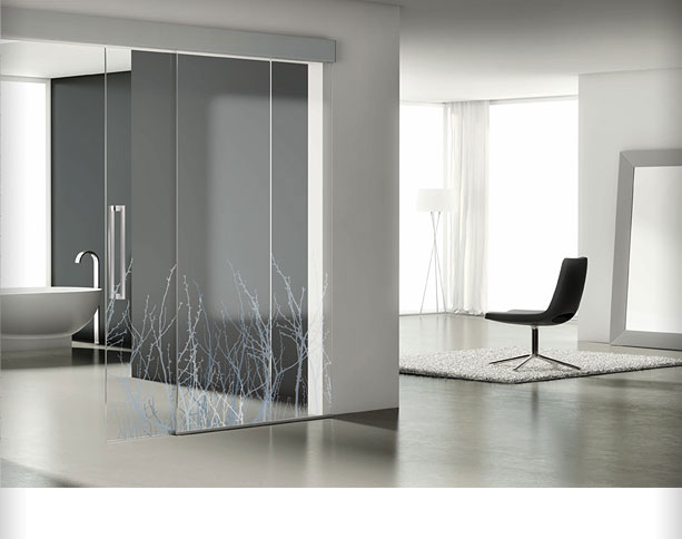 Decoratelacasa blog de decoraci n puertas correderas y - Puertas de cristal para interiores ...