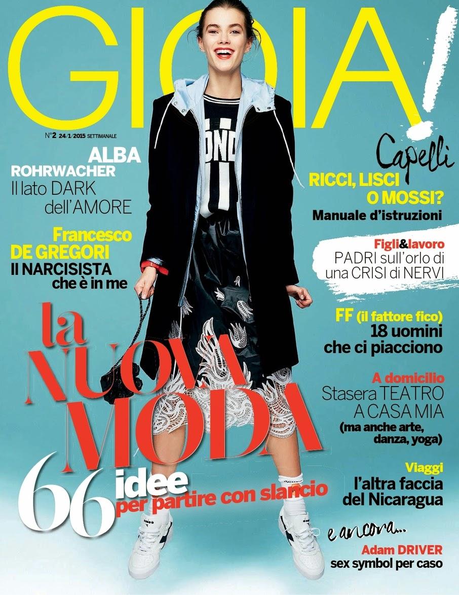 Film Actress: Alba Rohrwacher - Gioia!, Italy, January 2015