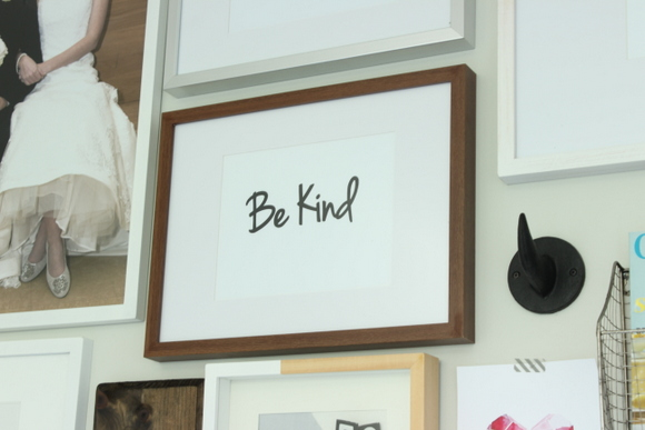 Be Kind - Office Gallery Wall Printable