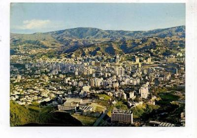 Caracas desde lejos, sin un solo cerro!