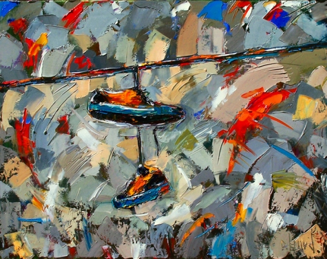 Beautiful abstract paintings from around the world the for Art from around the world