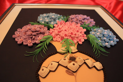 Tablouri Quilling XI   Quilling Wall Pictures XI