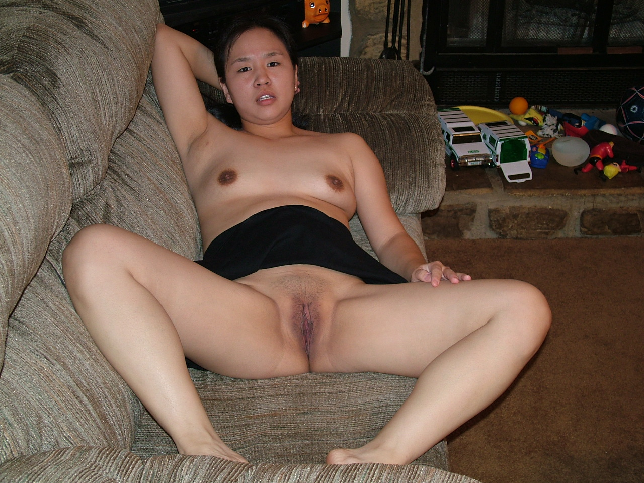 Sharon shaved asian pussy