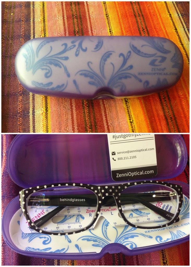 Zenni Optical Polka Dot Glasses : behind the leopard glasses: Sunday Shopping! & wearing the ...