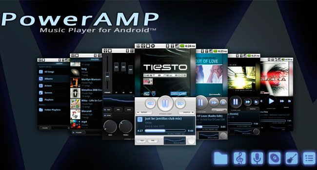 PowerAmp Full Para Android