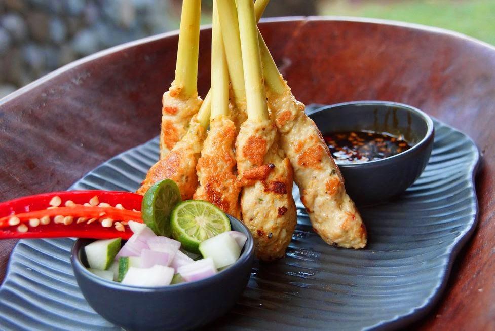Resep Membuat Sate Lilit Daging Ikan Khas Bali Asli