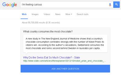Fun Facts Dan I'm Feeling Curious Cara Baru Google Menambah Pengetahuan