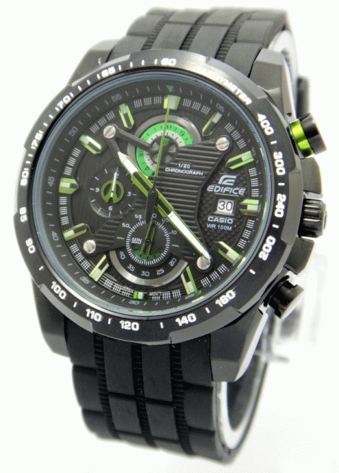 Jual Jam Tangan Casio Edifice EF 523 Green Black