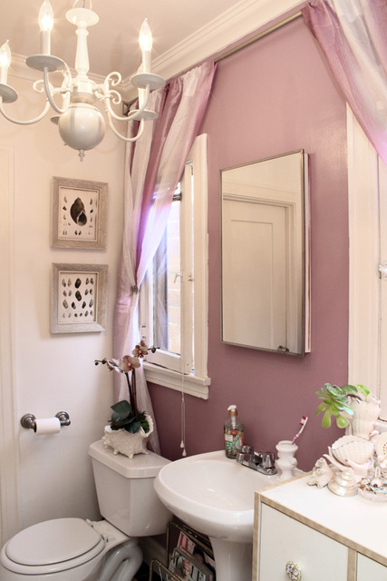 My first little place a rental success for Rental apartment bathroom ideas
