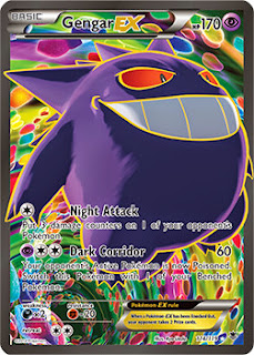Gengar EX Phantom Forces Pokemon Card