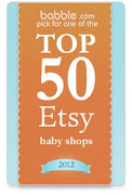  Kyssa was named the #1 BEST VINTAGE BABY SHOP by Babble.com 