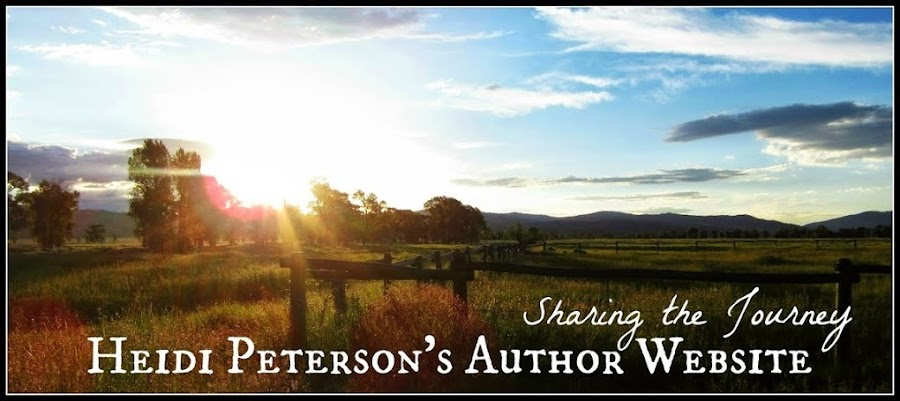 Sharing the Journey: Heidi Peterson's Author Blog
