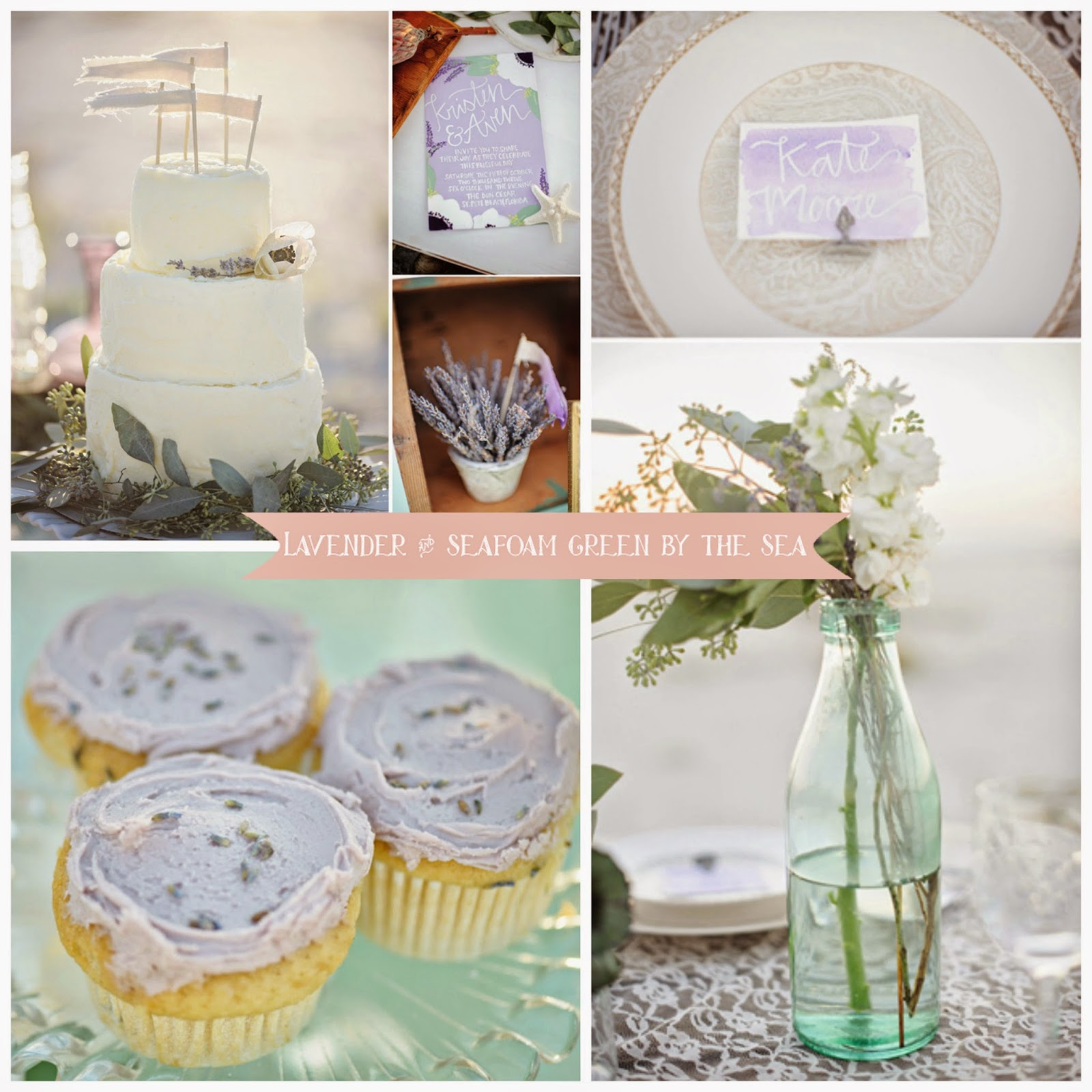 lavender and seafoam green color palette