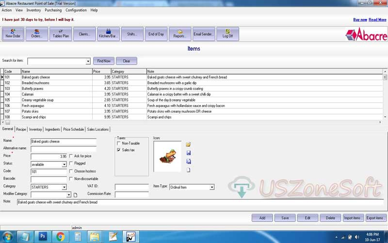 Abacre Restaurant Point Of Sale Full Version Free Download