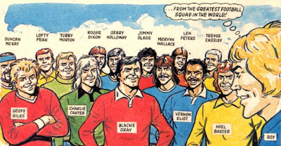 1977/78 Melchester Rovers Team Squad