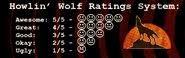 Howlin Wolf's Ratings