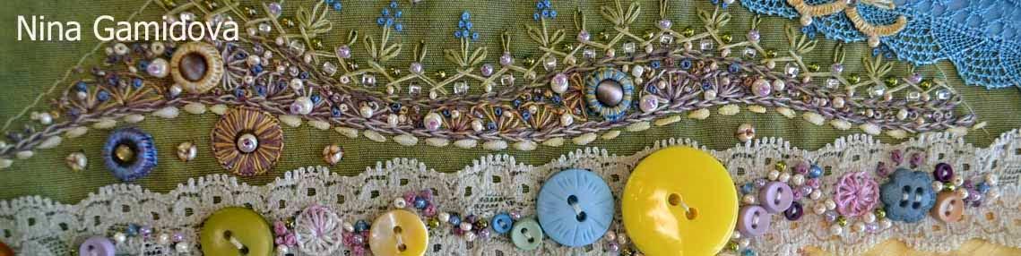 Крейзи квилт. Апрель. Текстильный календарь.
