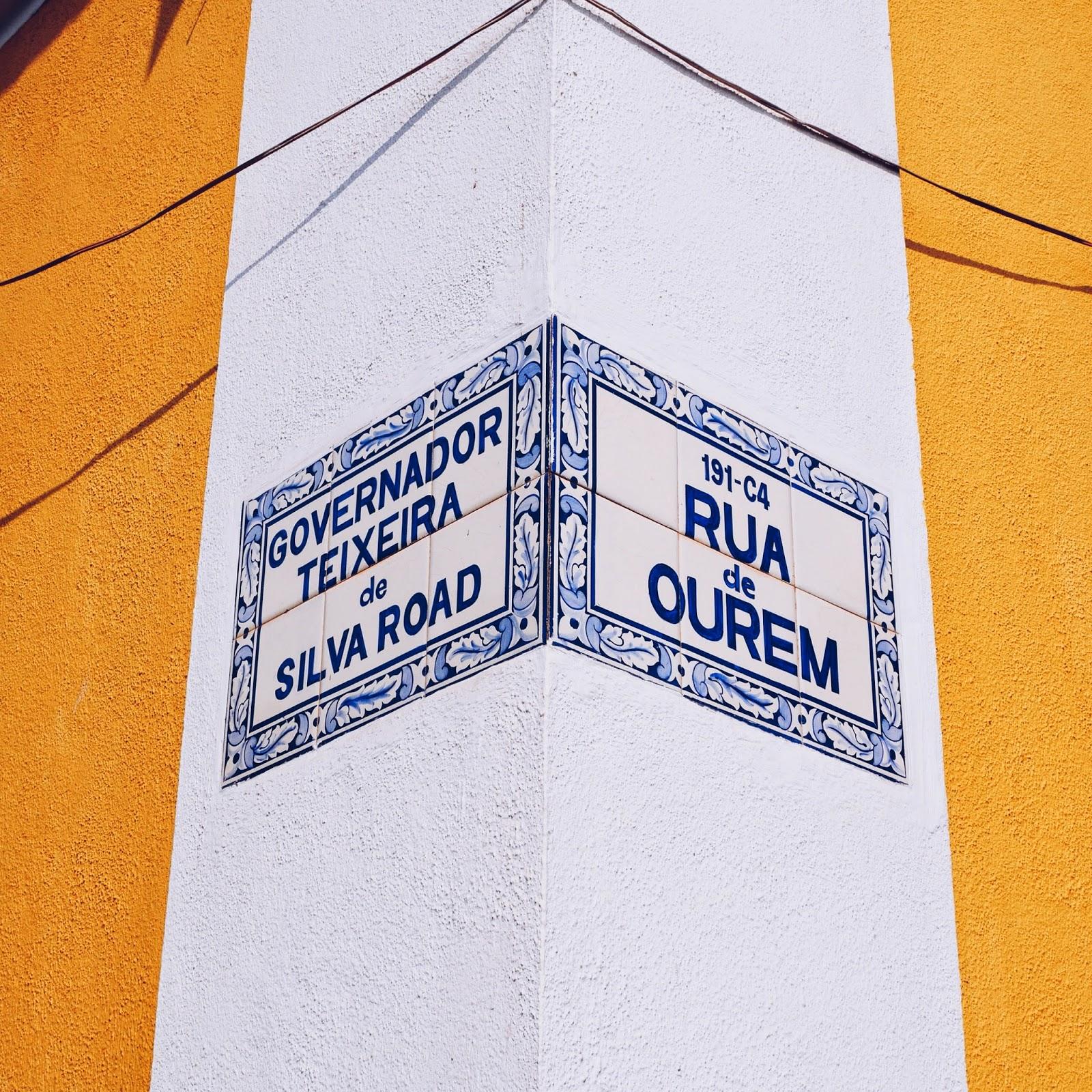 Panjim Road Signs