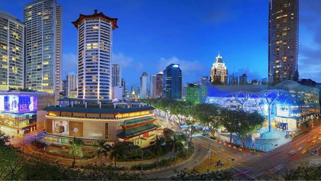 đặt vé máy bay đi singapore, Orchard Road