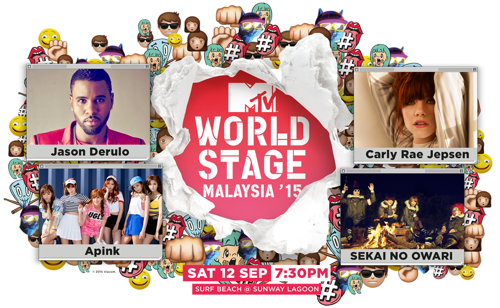 What So Sizzle Bout Sizzling Suzai Malaysia Fashion Travel And Lifestyle Blogger Mtv World Stage Malaysia 2015 Artist Line Up