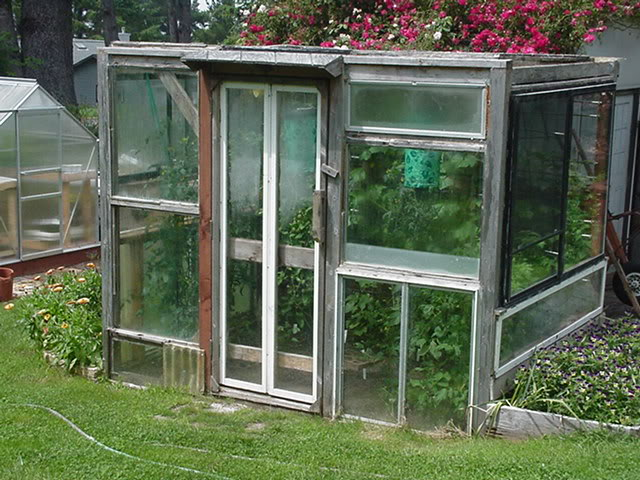 Homesteading pagan style greenhouses made from old windows for What is a greenhouse made out of