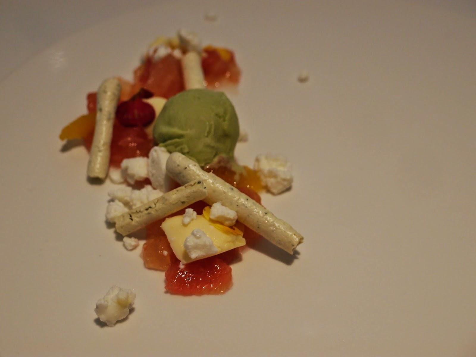 Citrus Herb ice cream