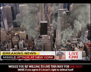 Gaza: Imagine if New York...